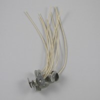 65642-100 - Cotton Core 44-20-18 Pre-tabbed Wicks 6 inch - 100 Pack - SHIPS FREE