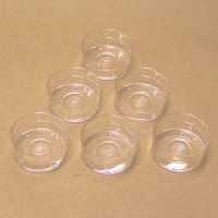 710020-25-FS - Plastic Tea-Light Cups - 25 Pack - FREE Shipping