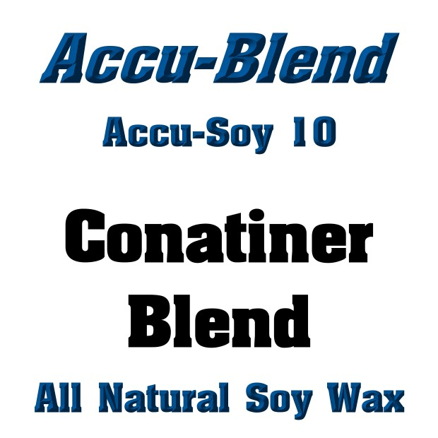 Accu-Blend Soy #10 (All Natural Soy Wax) - 50Lb CUBE FORM