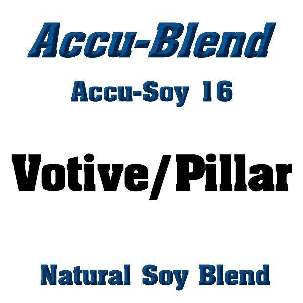 Accu-Blend #16 All Natural Soy Votive/Pillar Blend - 5 lb Bag