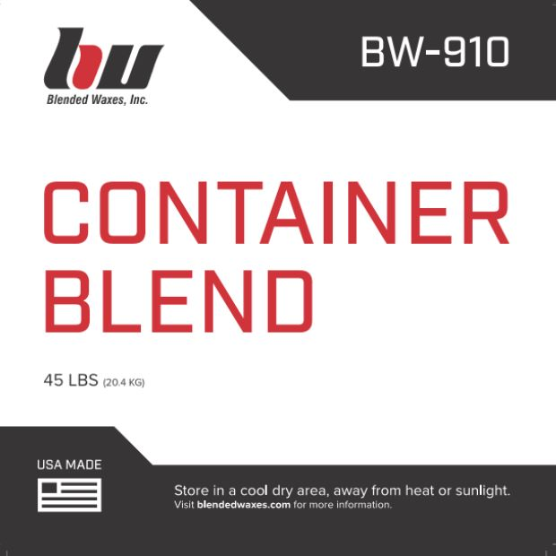 Blended Waxes Paraffin/Soy Container Blend - 45 Lb Case