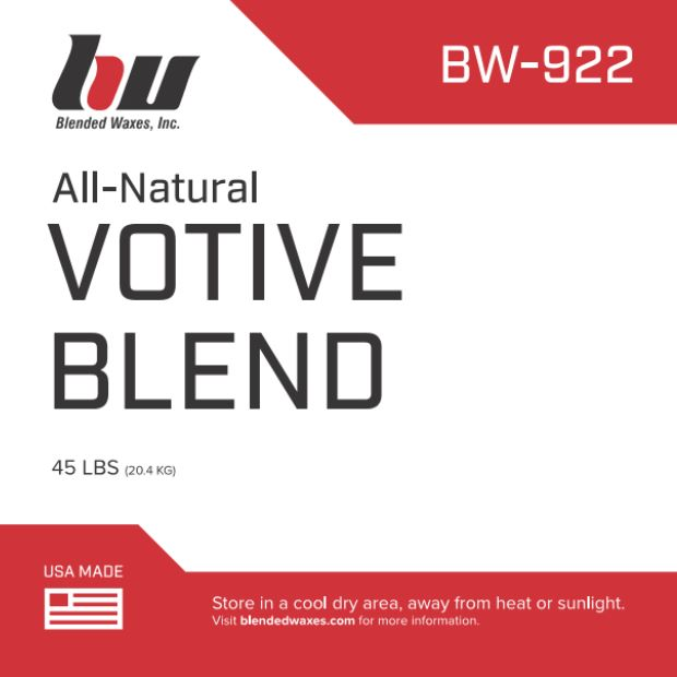 901922-45 - All-Natural Votive Blend - 45 Lb Case