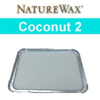 Picture of two pound tin of Coconut Candle Wax.
