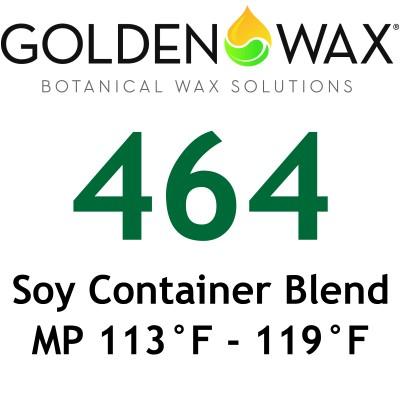 Golden Wax 464 Soy Wax Flakes - 45 lb Case - NEW SIZE
