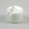 5500162 - White Flip Top Dispenser Cap 28mm - For Bottles with a 28/410 Finish