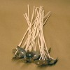 LX-28 Pre-tabbed Wicks 6 inch - 100 Pack - FREE Shipping