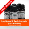 SFO8PKSAM-FS - Soy Based Fragrance Oil 8 Pack Sampler - FREE Shipping